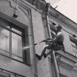 Высотные работы.Промышленные альпинисты