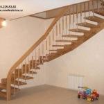 Красивые лестницы для квартиры, дома или дачи из массива