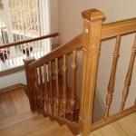 Красивые лестницы для квартиры, дома или дачи из массива Москва
